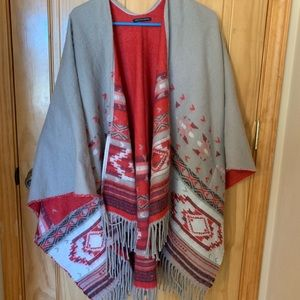 American Eagle Shawl/Cardigan/tunic